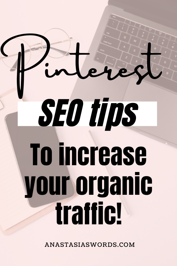 pinterest seo tips for organic traffic