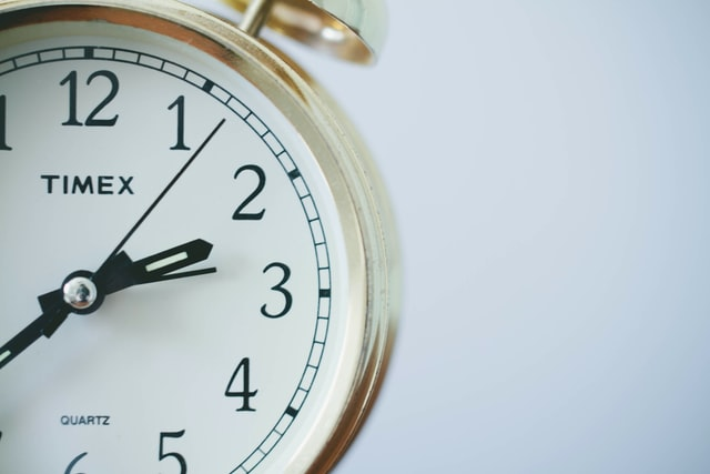 an image if a small clock
